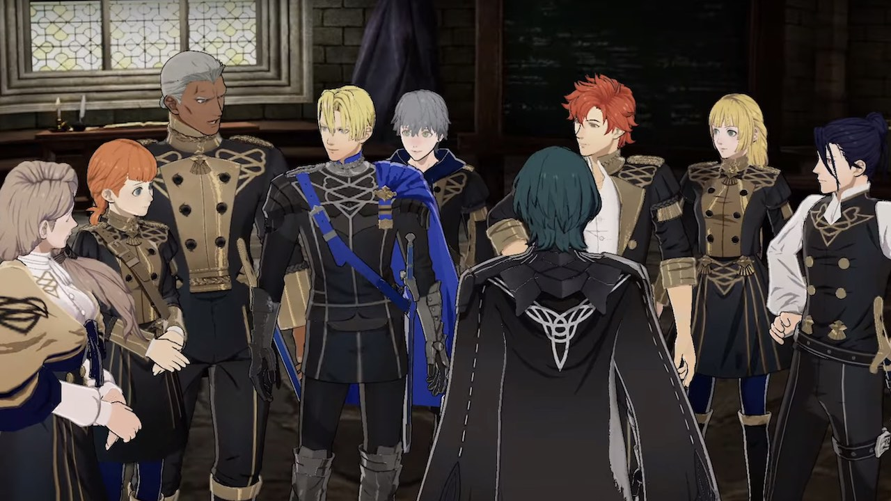 Fire Emblem: Three Houses Blue Lions Screenshot