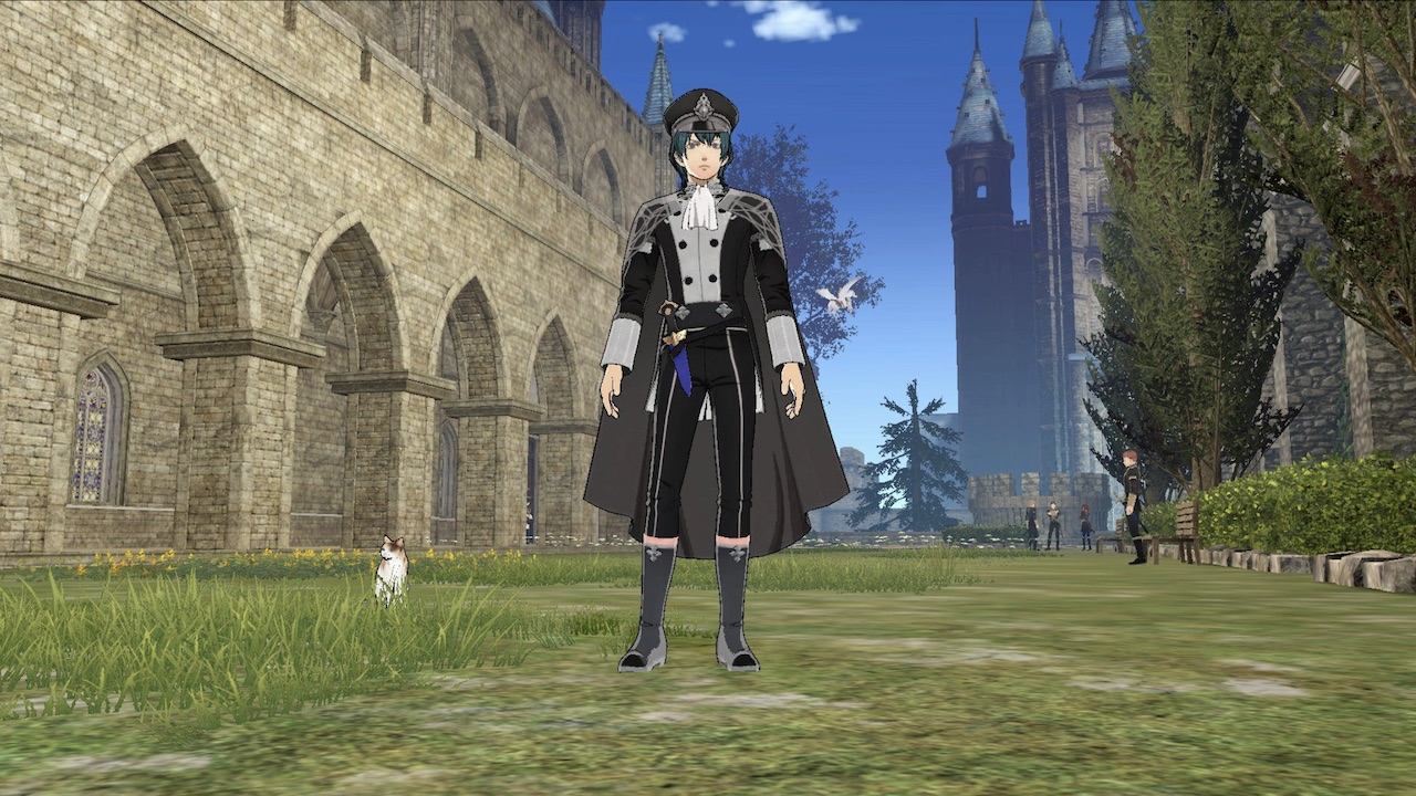 Fire Emblem: Three Houses Officers Academy Outfit Screenshot 1