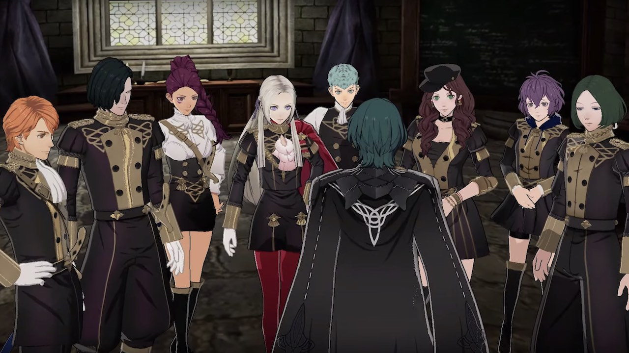Fire Emblem: Three Houses The Black Eagles Screenshot
