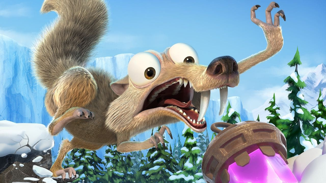 Ice Age: Scrat's Nutty Adventure Key Art