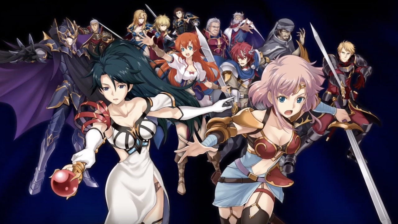Langrisser I And II Key Art