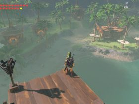 Lurelin Village The Legend Of Zelda: Breath Of The Wild Screenshot