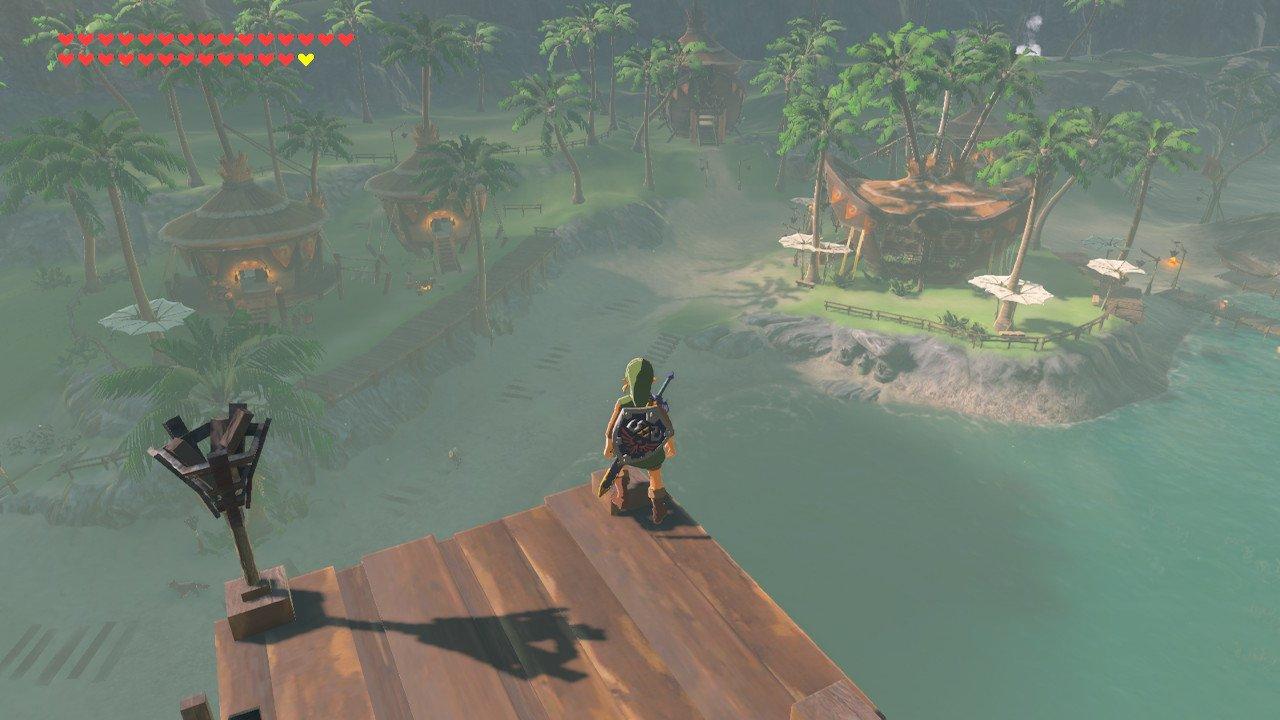 Lurelin Village The Legend Of Zelda: Breath Of The Wild Screenshot