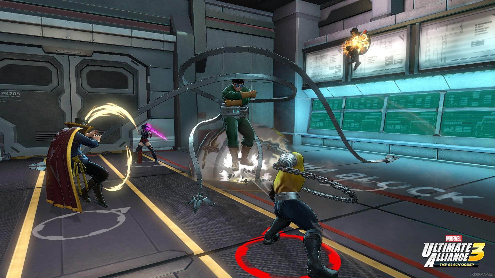 Marvel Ultimate Alliance 3: The Black Order Review Screenshot 4