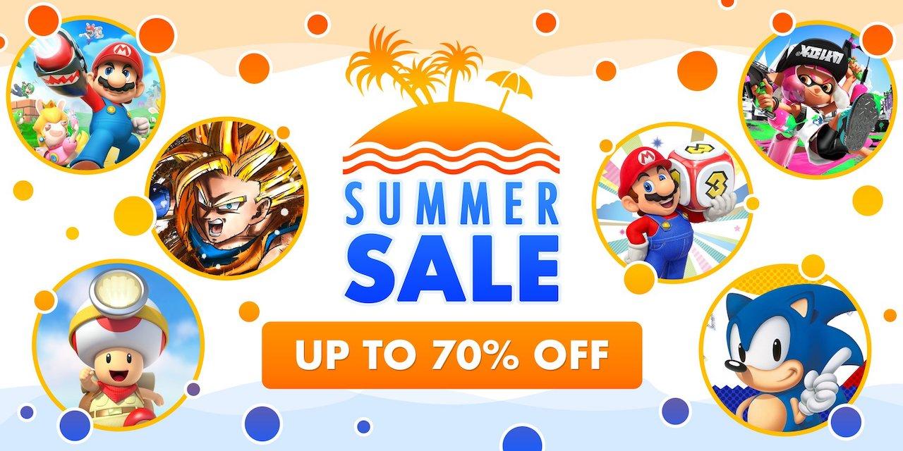 Nintendo eShop Summer Sale Image