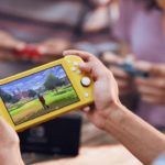 Nintendo Switch Lite Gameplay Photo