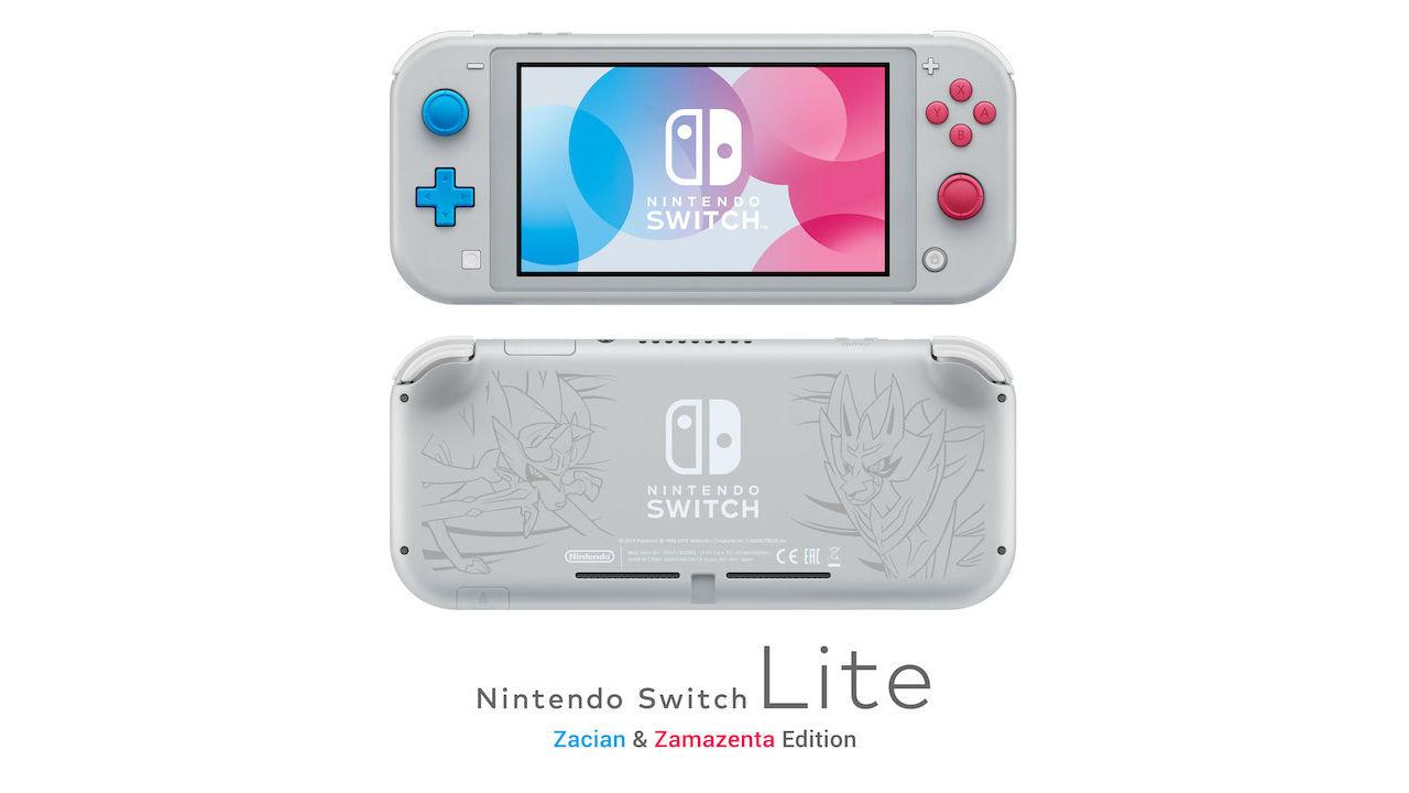 Nintendo Switch Lite Zacian And Zamazenta Edition Photo