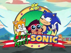 OK K.O.! Let's Be Heroes Let's Meet Sonic Screenshot