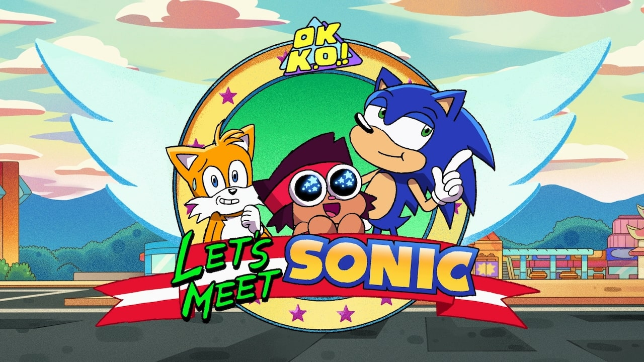 OK K.O.! Let's Be Heroes Let's Meet Sonic Screenshot