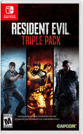 Resident Evil Triple Pack Switch Box Art