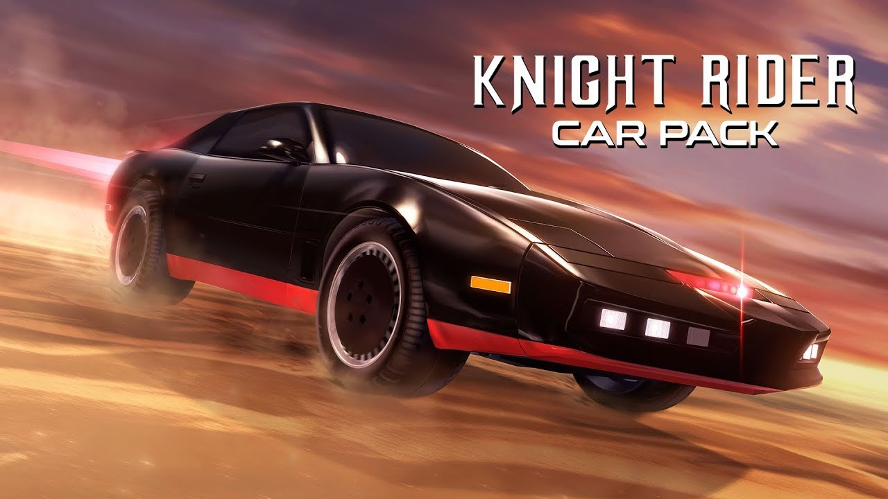 Rocket League Knight Rider Car Pack Now Available
