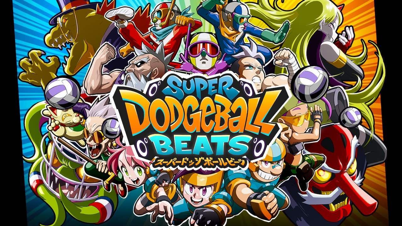 Super Dodgeball Beats Key Art