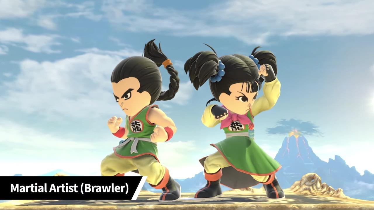 Super Smash Bros. Ultimate Martial Artist Mii Fighter Costume Screenshot