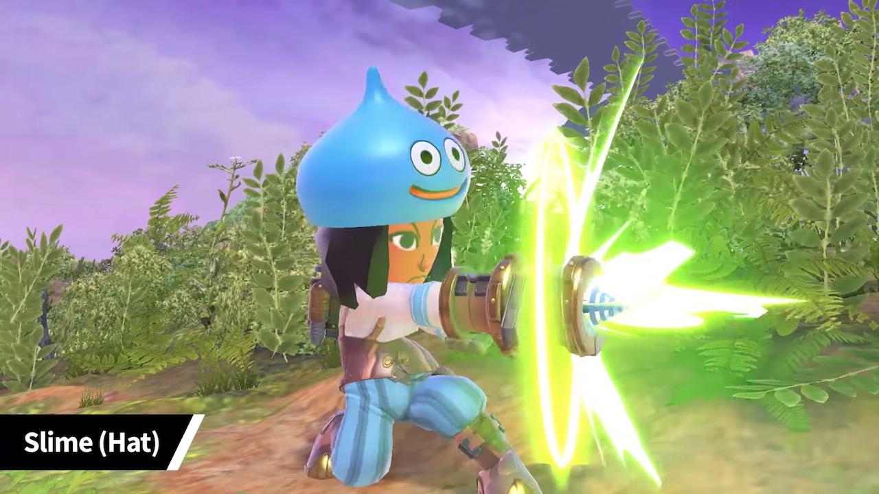 Super Smash Bros. Ultimate Slime Hat Mii Fighter Costume Screenshot
