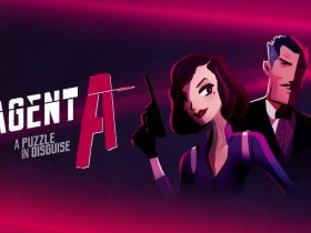 Agent A: A Puzzle In Disguise Logo