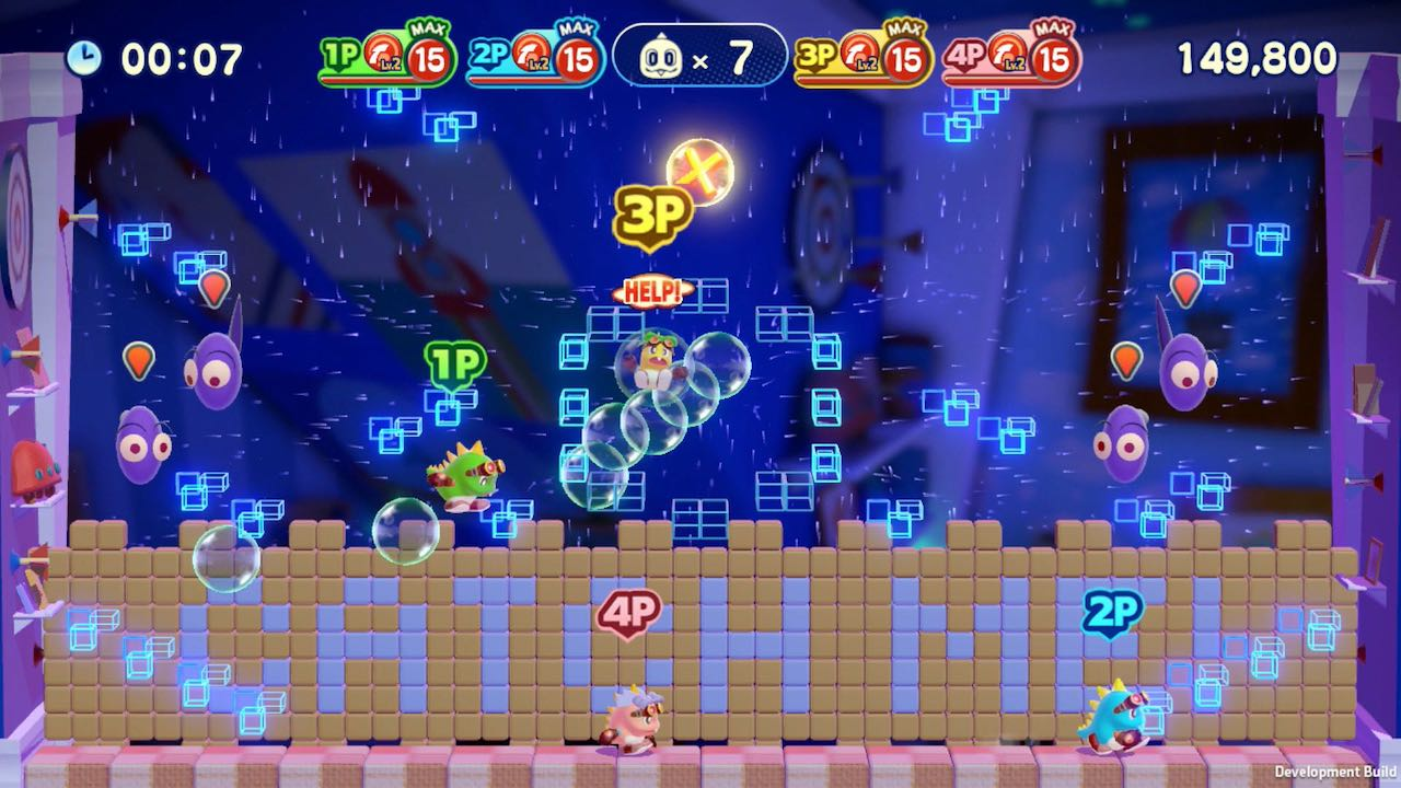 Bubble Bobble 4 Friends Screenshot