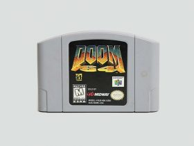 DOOM 64 Cartridge Photo