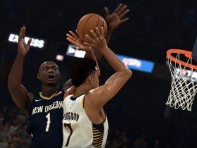 NBA 2K20 Zion Williamson Screenshot
