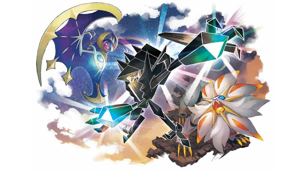 Necrozma Pokémon Ultra Sun Ultra Moon Key Art