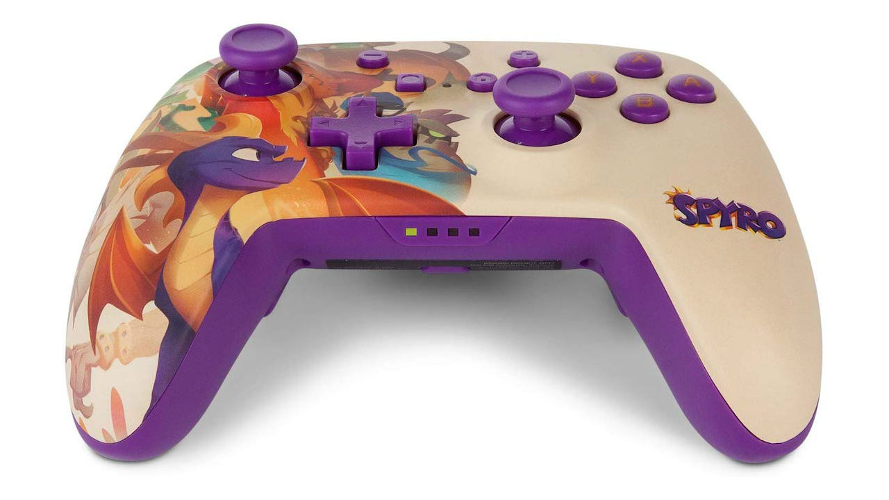 PowerA Spyro Nintendo Switch Controller Photo