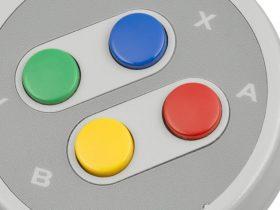 SNES Controller Buttons Photo