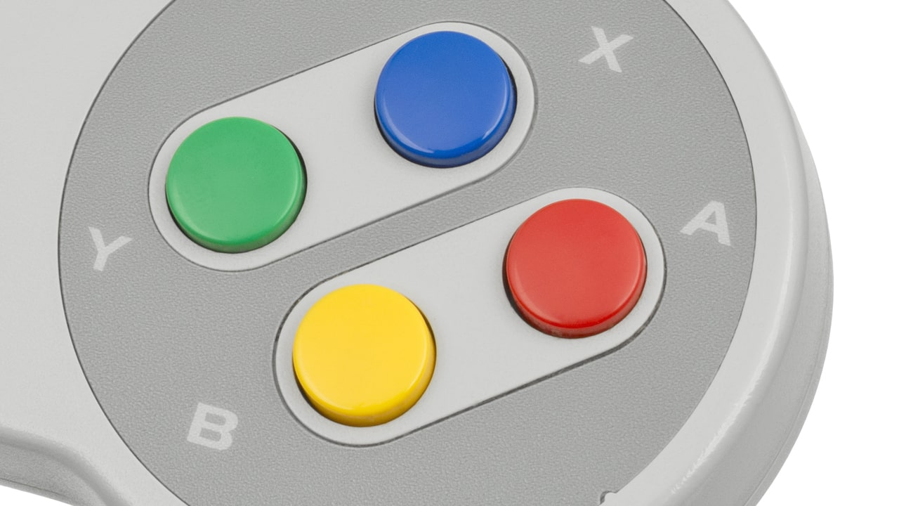 SNES Controller Buttons Photo