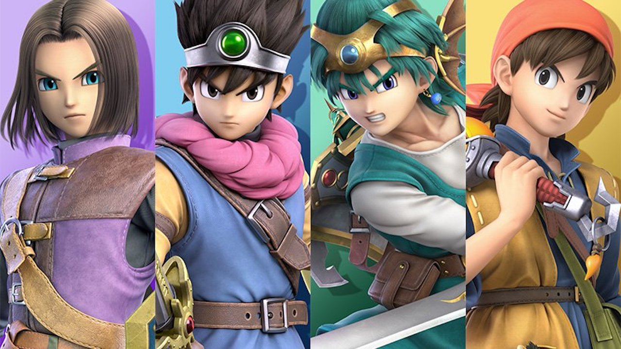 Super Smash Bros. Ultimate Dragon Quest Image