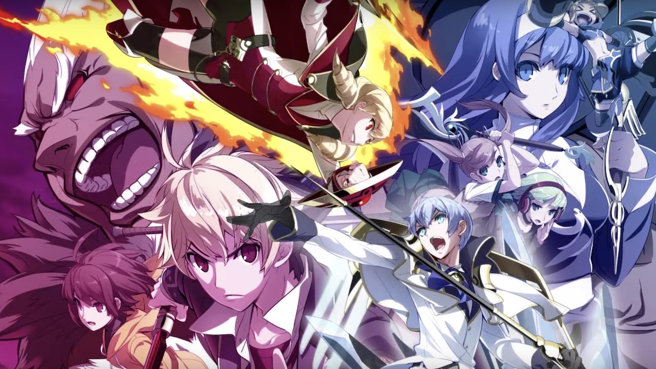 Under Night In-Birth Exe:Late[cl-r] Key Art