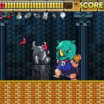 Wonder Boy Returns Remix Update Screenshot