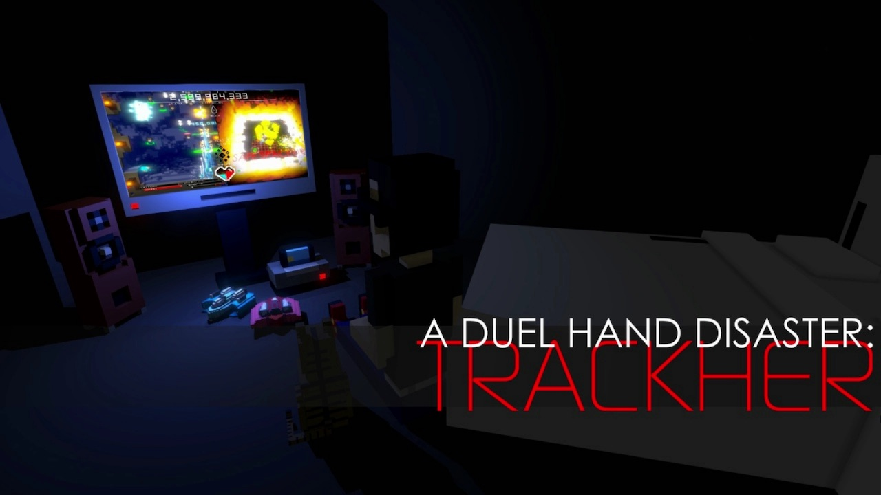 A Duel Hand Disaster: Trackher Logo