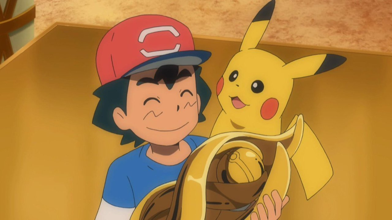 Ash Ketchum Alola League Champion Screenshot