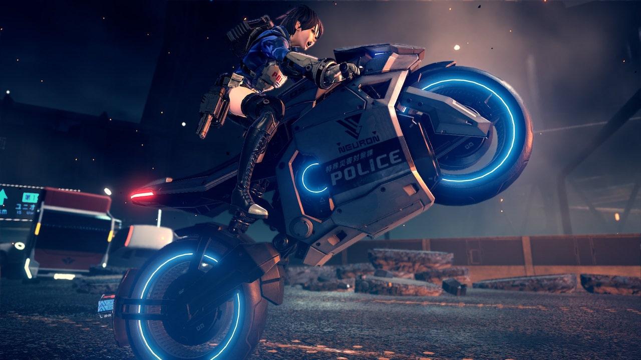Astral Chain Bike Screenshot