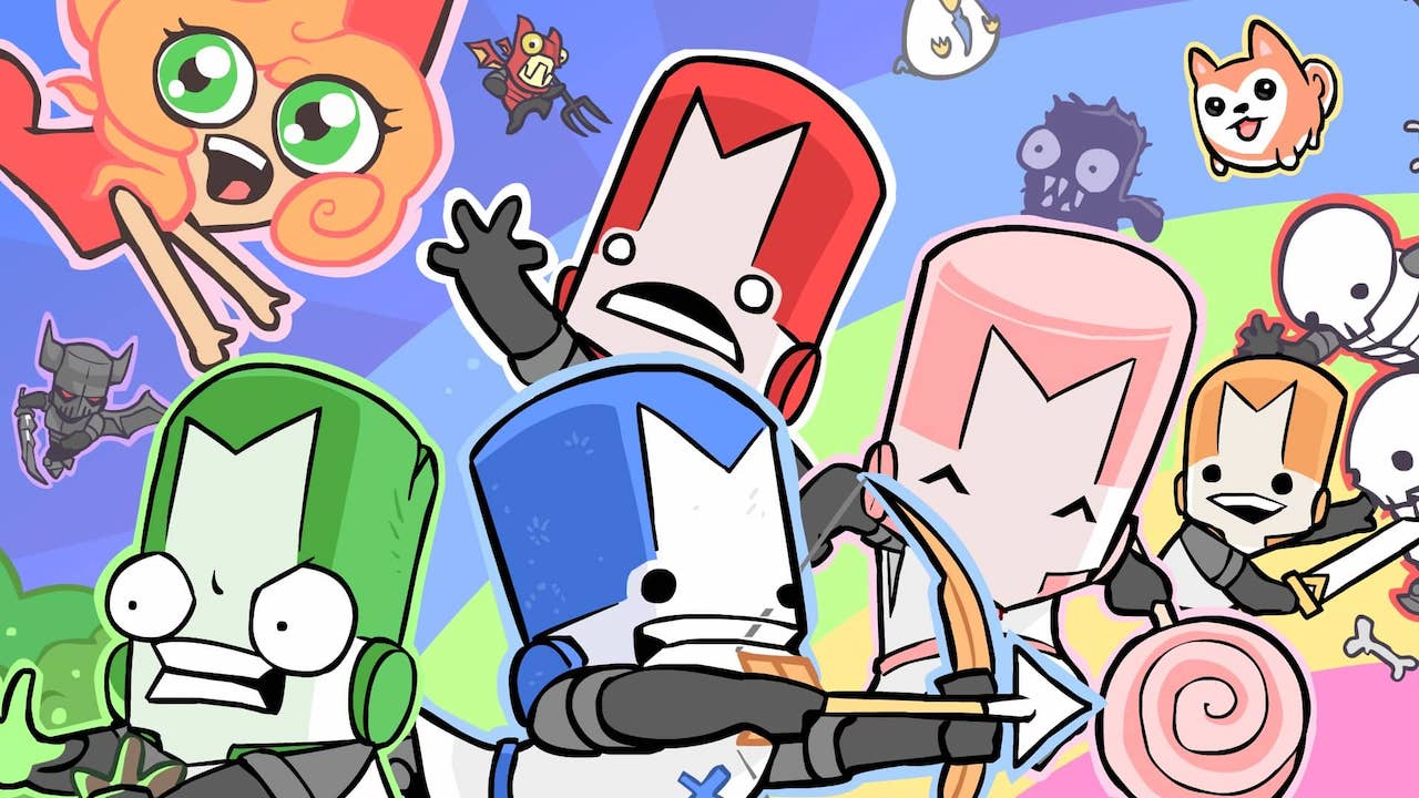 Castle Crashers Remastered Review Header