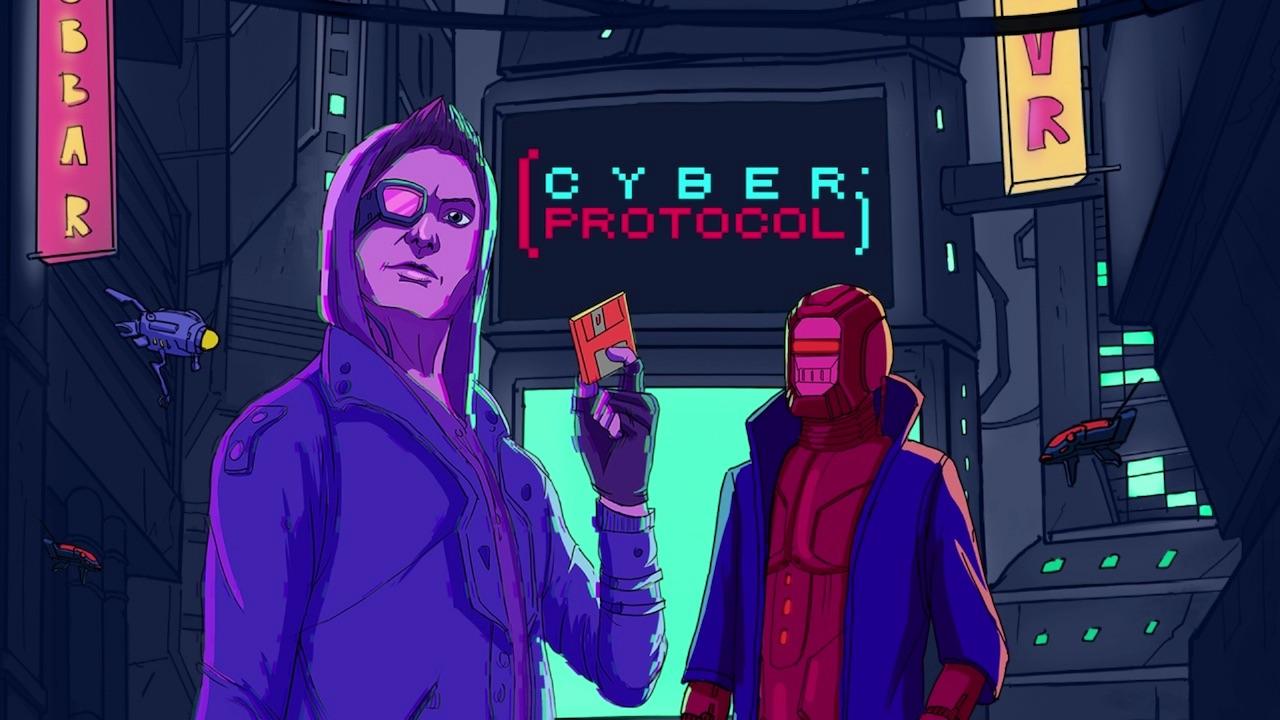 Cyber Protocol Logo