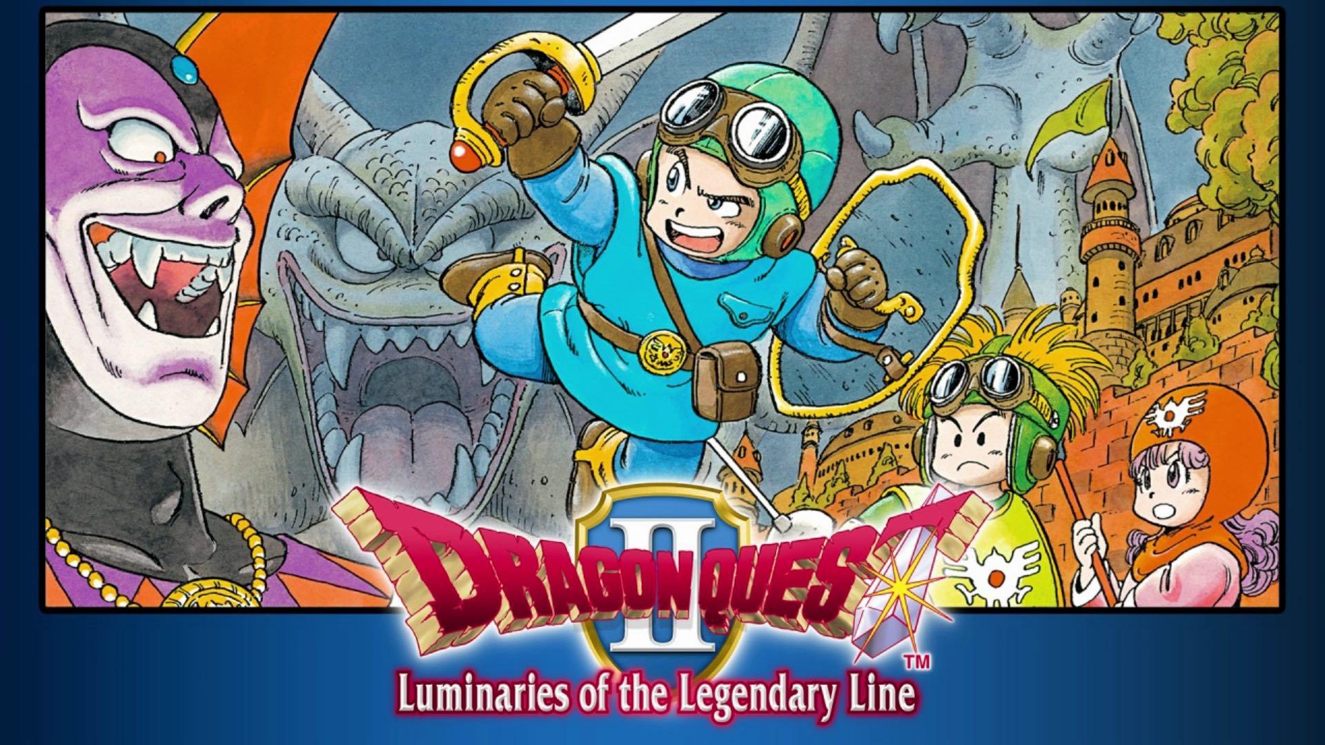 Dragon Quest II: Luminaries of the Legendary Line Logo