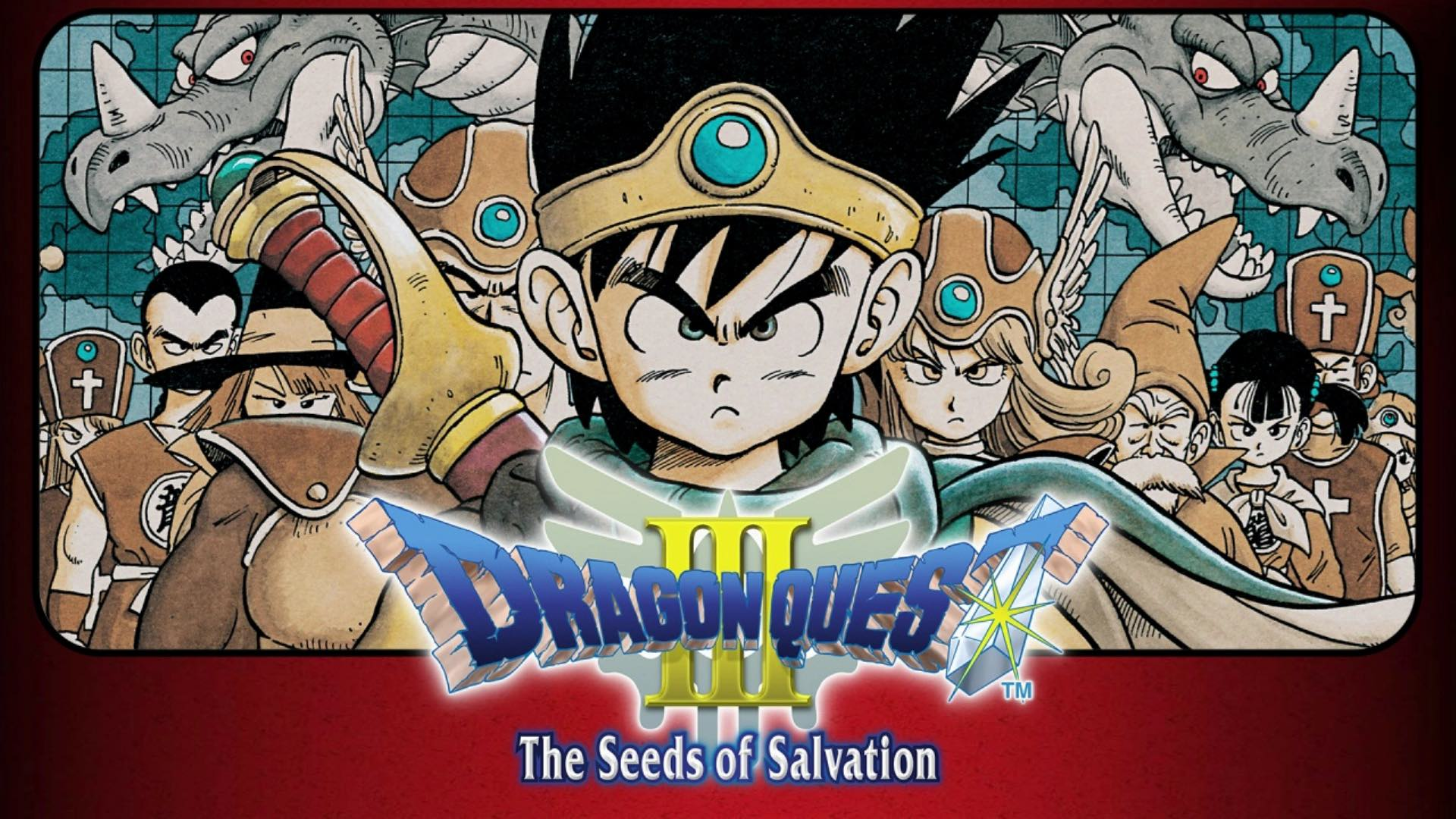 Dragon Quest III: The Seeds of Salvation Logo