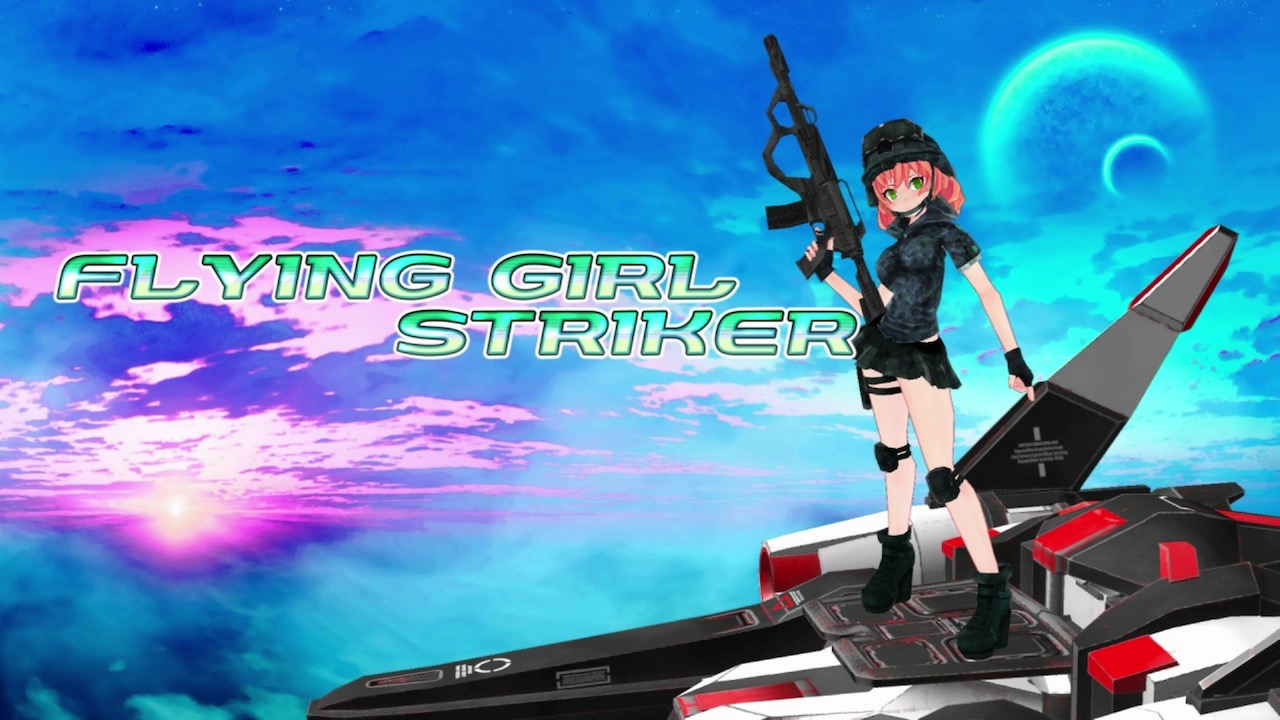 Flying Girl Striker Logo