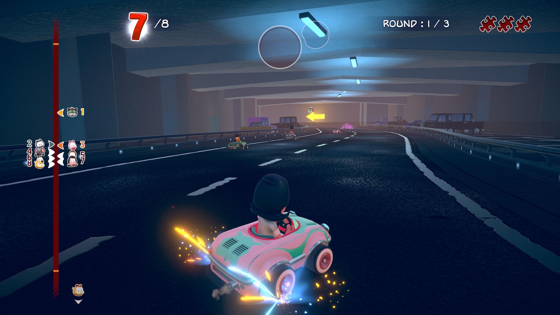 Garfield Kart Furious Racing Screenshot September 2019 1