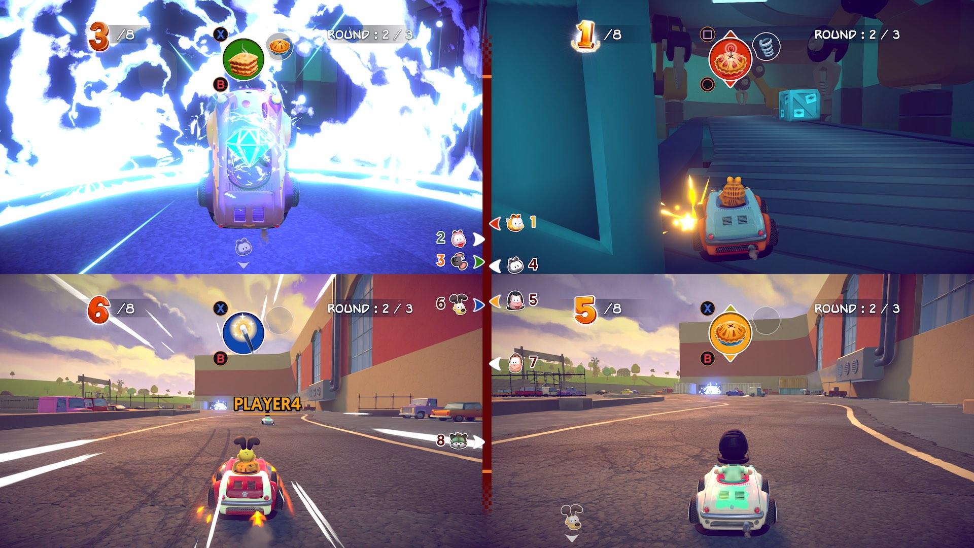 Garfield Kart Furious Racing Screenshot September 2019 10