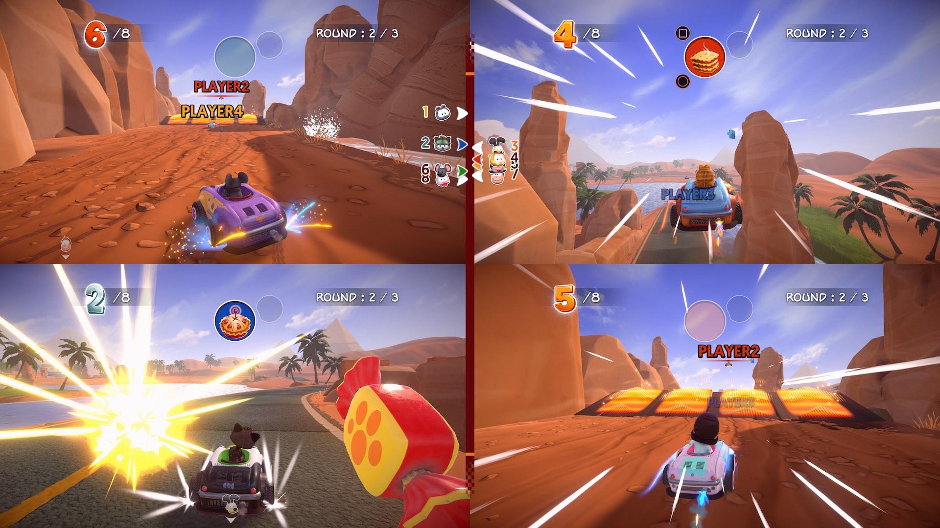 Garfield Kart Furious Racing Screenshot September 2019 11