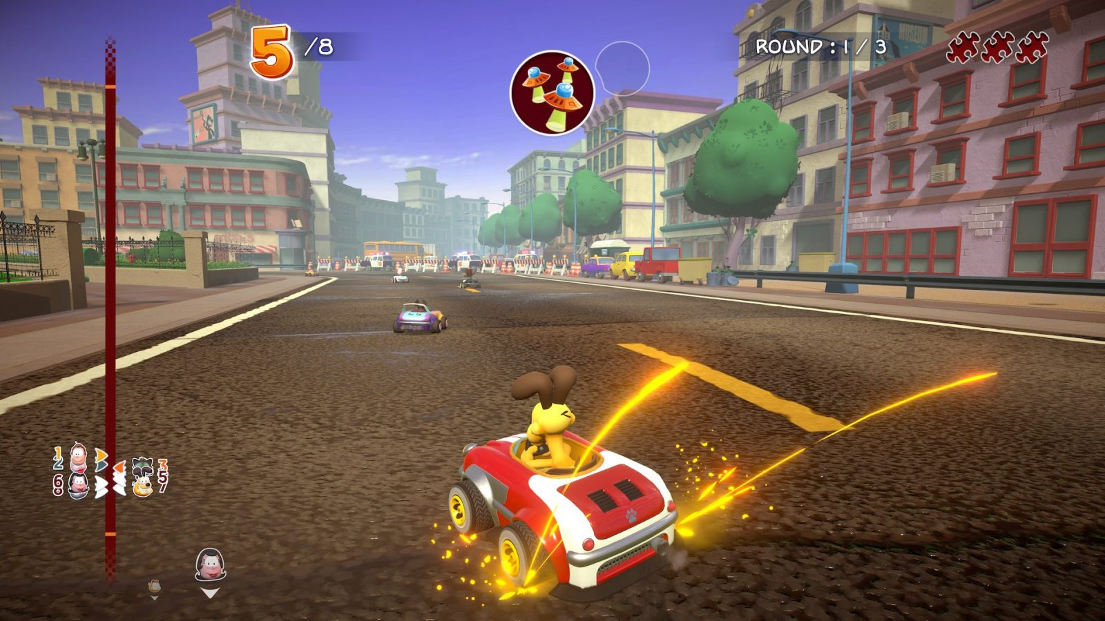 Garfield Kart Furious Racing Screenshot September 2019 3