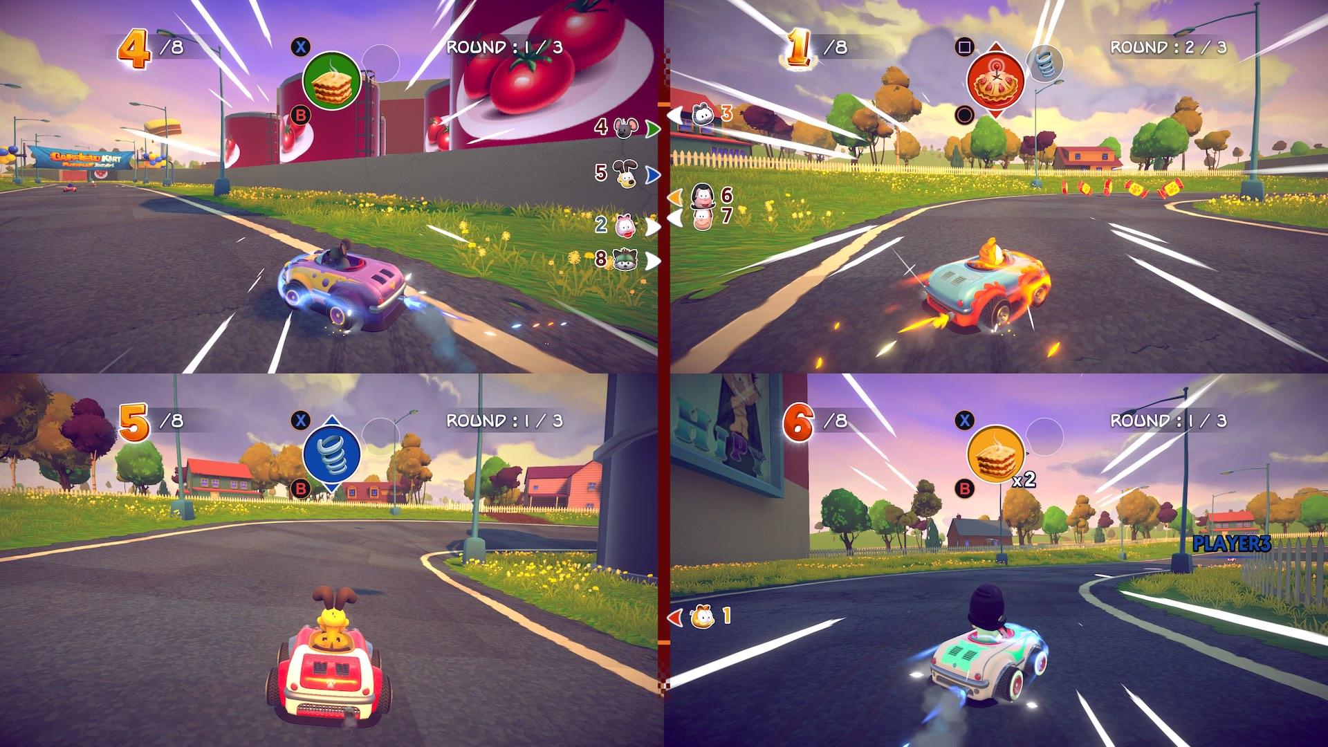 Garfield Kart Furious Racing Screenshot September 2019 9