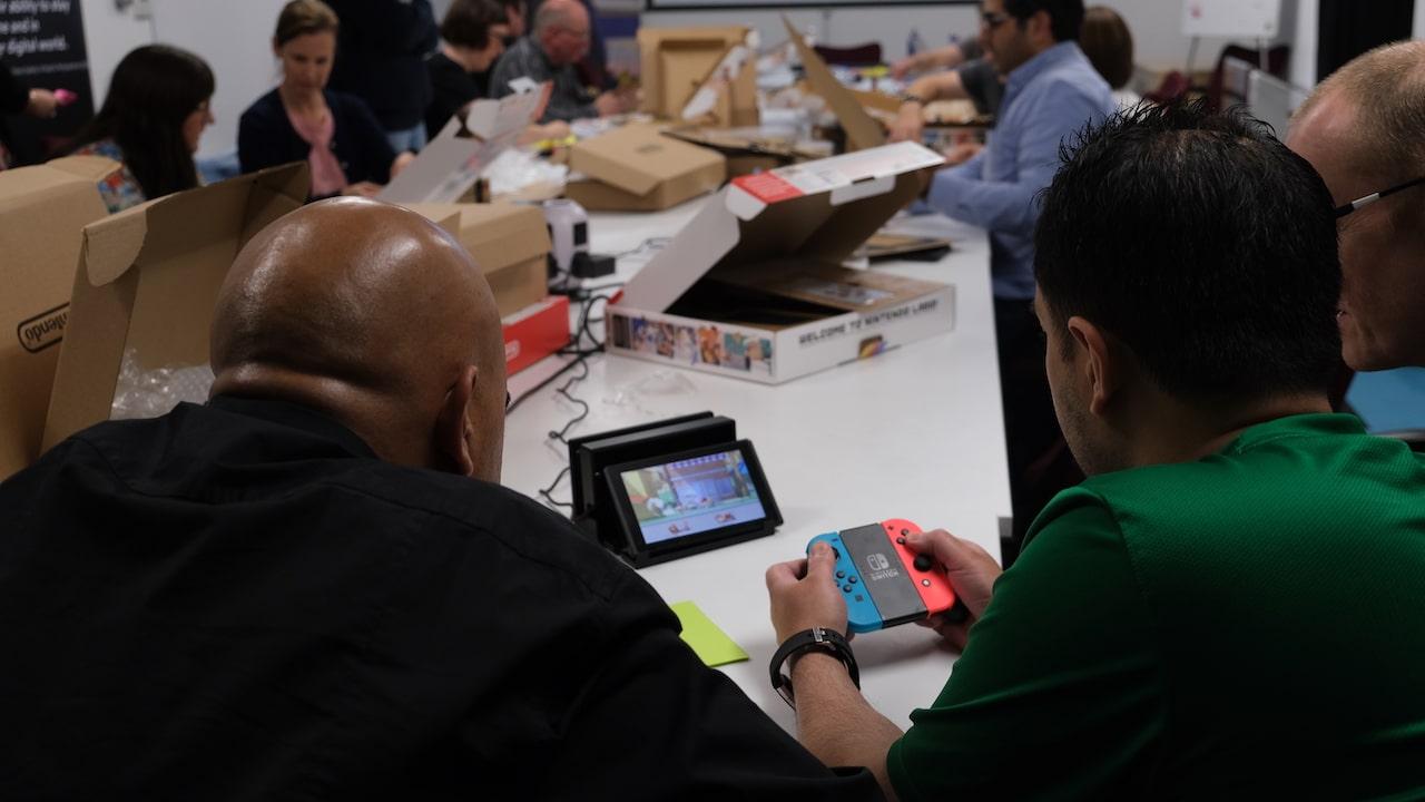 Nintendo UK Digital Schoolhouse Photo