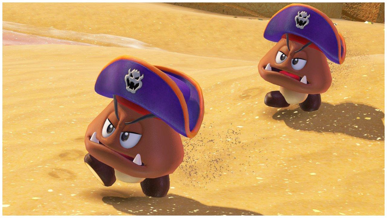 Pirate Goomba Super Mario Odyssey Screenshot