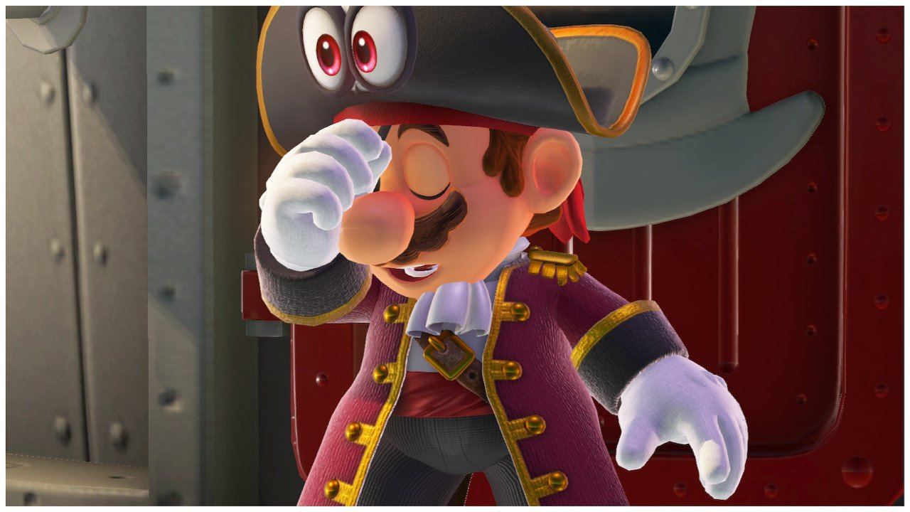 Pirate Mario Super Mario Odyssey Screenshot