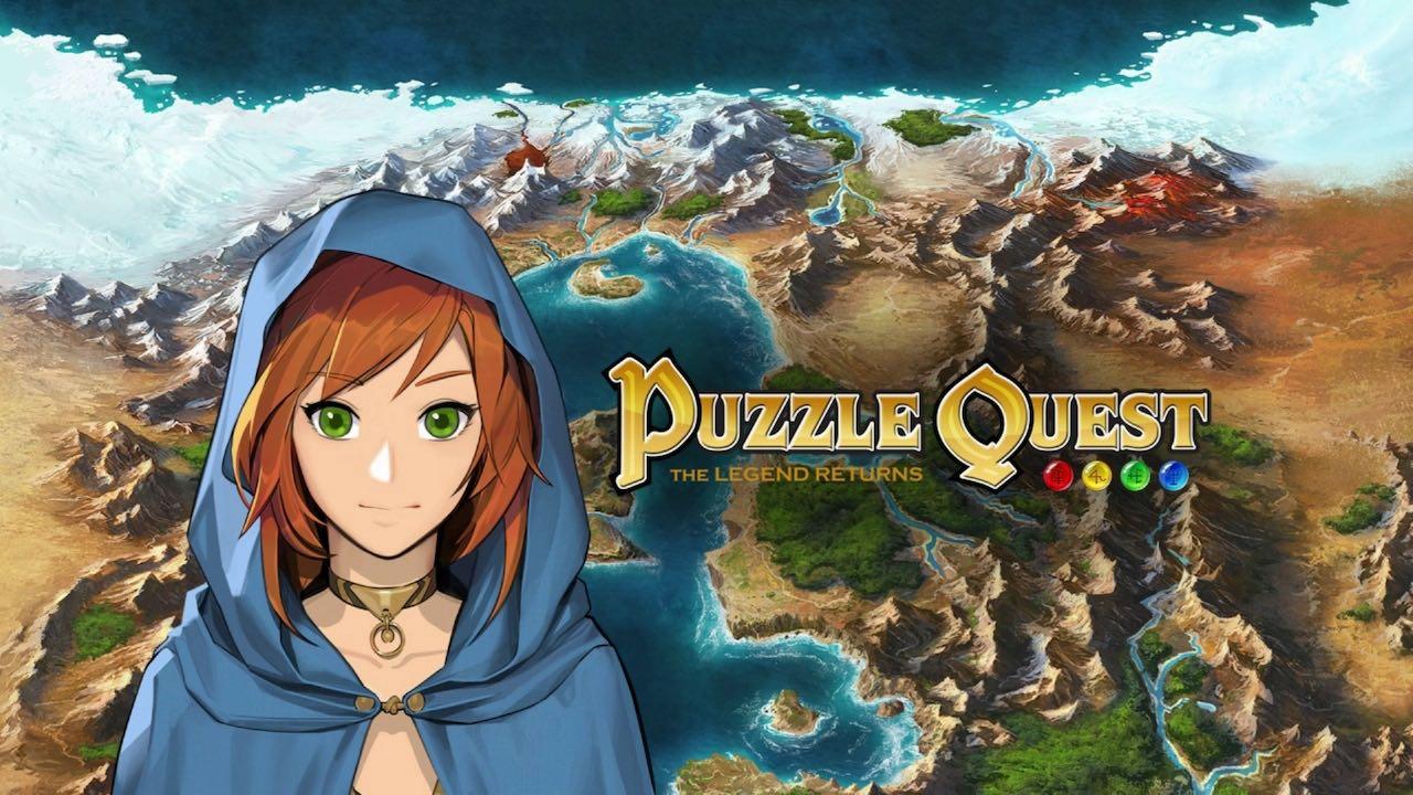 Puzzle Quest: The Legend Returns Logo