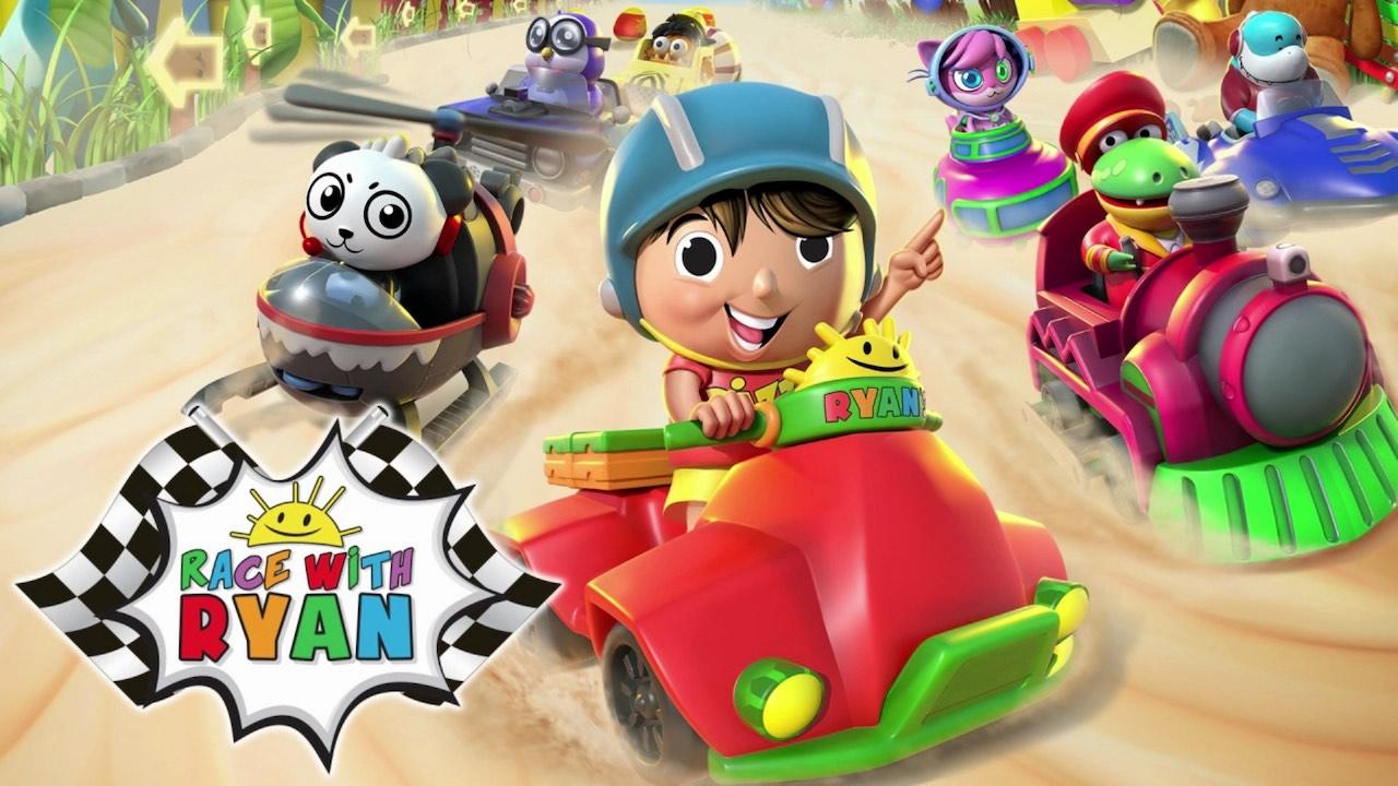 Race With Ryan Logo