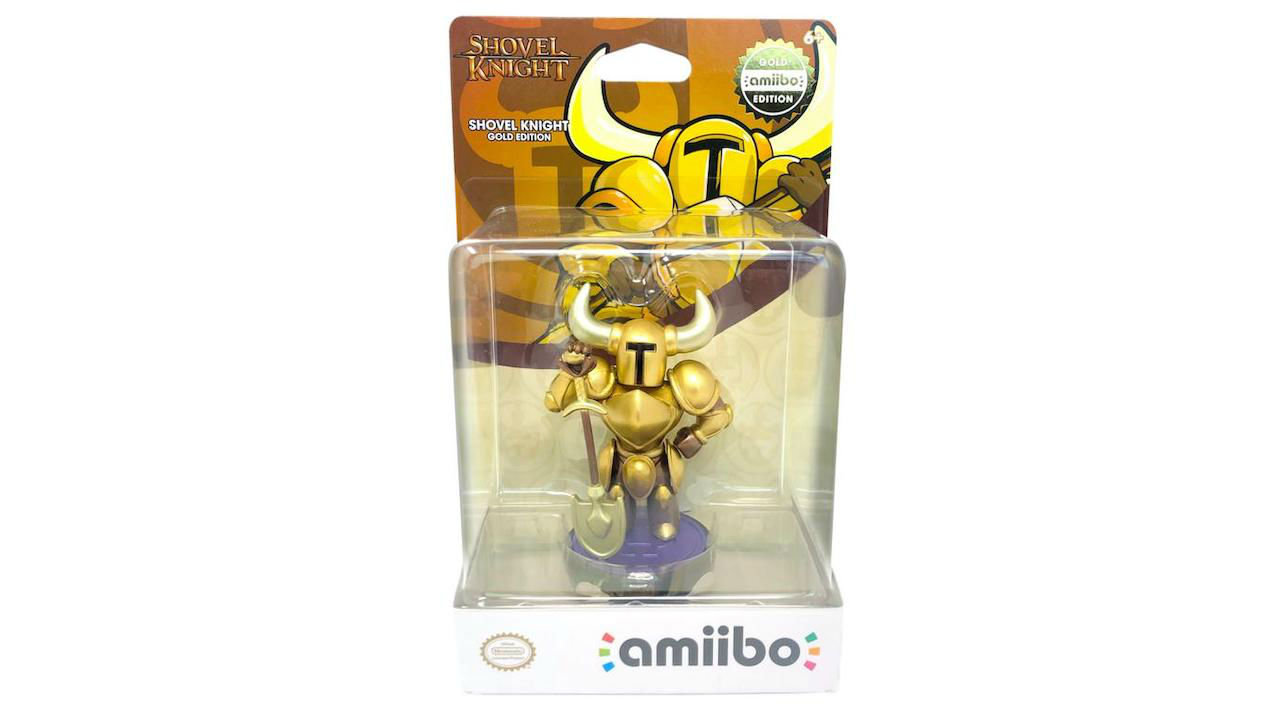 Shovel Knight Gold Edition amiibo Photo