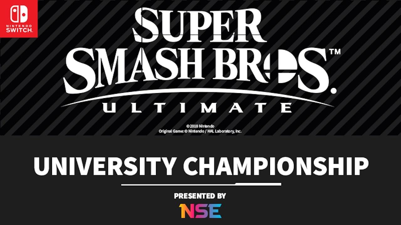 Super Smash Bros. Ultimate University Championship Logo