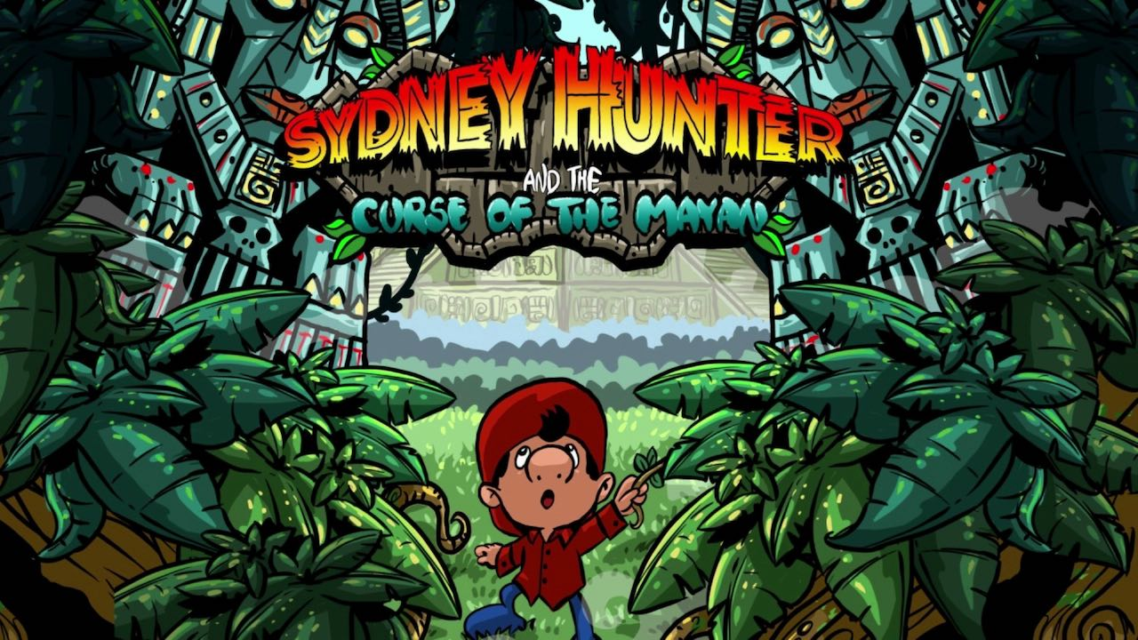 Sydney Hunter and the Curse of the Mayan Logo